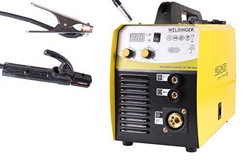 WELDINGER MIG/MAG Schweißinverter ME 160 eco 160 A Elektrodenfunktion auch Fülldraht