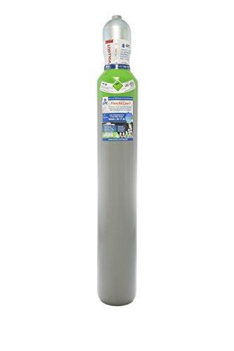 Schutzgas 18 10 Liter Schutzgasflasche neutrale Eigentumsflasche zum MAG Schweißen mit DIN Ventil und Schutzkappe fabrikneu